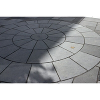 BLACK LIMESTONE CIRCLE 2.85M INC SQ OFF