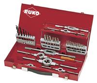 Ruko Thread Cutting Set 44Pc M3 to M12