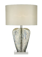 Syracuse Table Lamp, Mercury Gold Complete with Shade | LV1802.0144