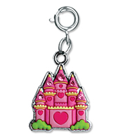 CHARM IT Castle Charm. (Priced in singles, order in multiples of 6)