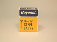 Bayonet Blued Tacks 20mm 50g - 10208