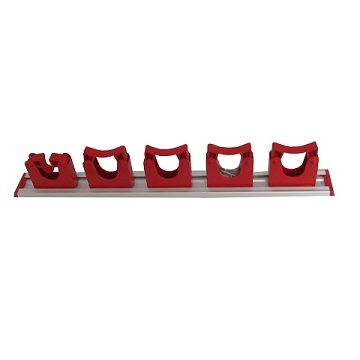 WALL TIDY RED 5 PIECE