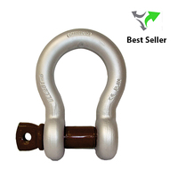 Gunnnebo Standard Screw Pin Bow Shackle | No. 854