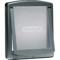 Staywell No.777 Large Dog Door + Lock Panel Grey x 1