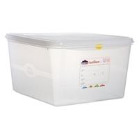 Storage Gast Container & Lid 2/3 354 x 325 x 200mm Ctn of 6
