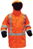 Arcguard Modacrylic Hi Vis TTMC-W Fire Retardant 36 Cal Anti-Static Rain Jacket 25,000mm