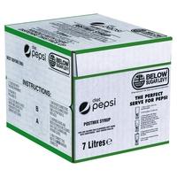 BIB Diet Pepsi Postmix Bag 7ltr