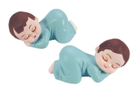 BP19 DECS SLEEPING BABY WHITE BLUE (50)