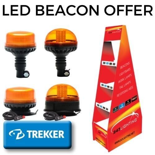 Trekker Beacon Offer with Display Stand