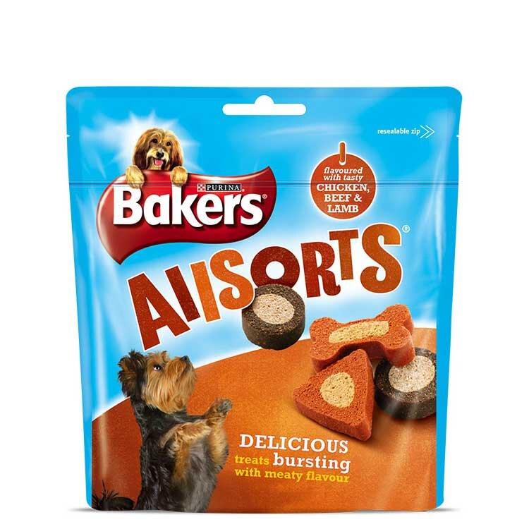 Bakers Allsorts 6 x 98g