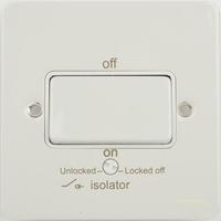 Flatplate 1g TP isolator 10AX plate switch | LV0701.0267