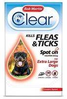 Bob Martin Flea-Clear Spot-On X-Large Dog Flea Drops 3 Tube x 1