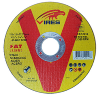Vires S/S Cutting Disc 115mm x 1.6mm