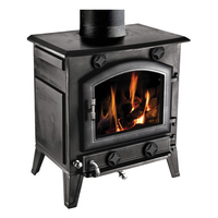 CLARKE Regal Cast Iron Stove 6.8KW