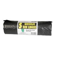 Wheelie Bin Liner Roll 5 (BB5WB)