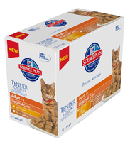 Hill's Pouch Adult Cat - Poultry Selection Multipack 85g x 12