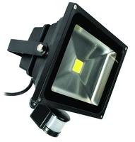 ECO 30W LED FLOODLIGHT C/W PIR SENSOR  6500K
