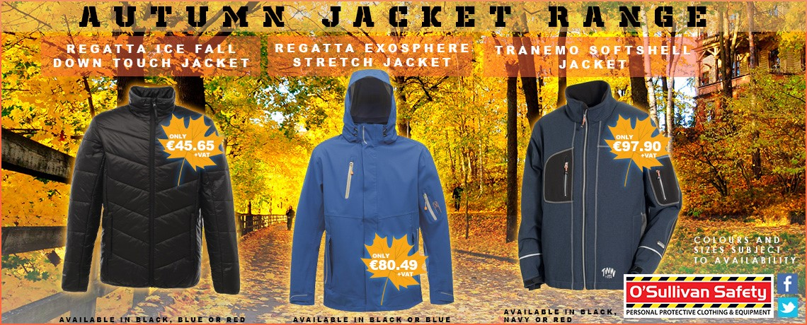 Autumn Jacket Range