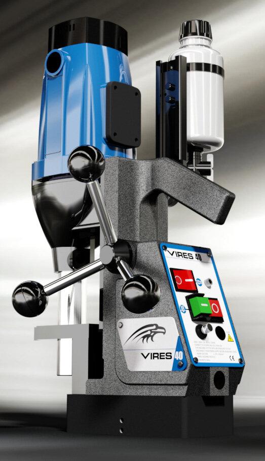 Vires 40mm Magnetic Drill 230V