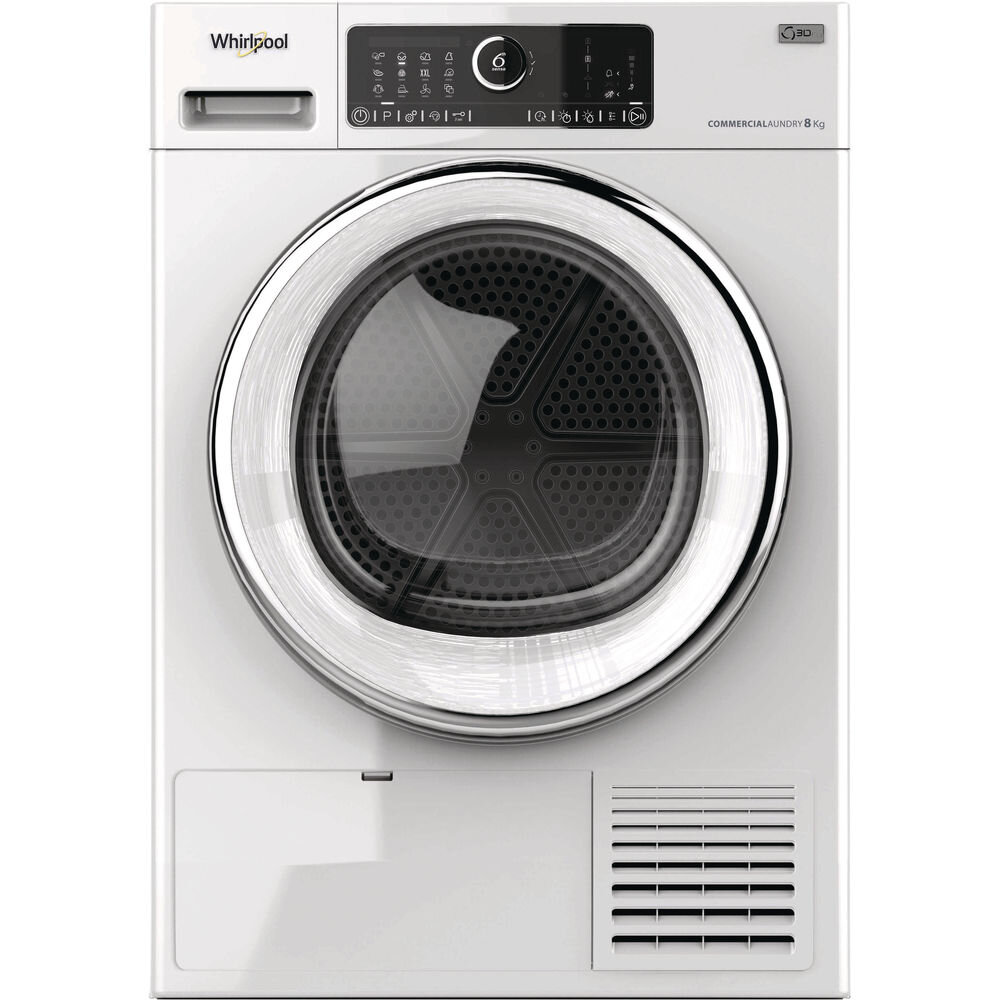 Whirlpool AWZ8HP/PRO 8KG Commercial Tumble Dryer - Heat Pump