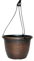 Acorn Hanging Basket 25cm - Warm Copper