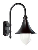 ANSELL Lampara E27 Wall Lantern Black Copper