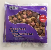 Pointer Assorted Mini Marrowbone Rolls 400g x 6