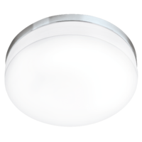 EGLO LED Lora Polished Chrome Ceiling Light LED 24w 3000k | LV1902.0062