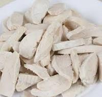 Steam Cooked Chicken Strips  (10mm) Mostel-(TH49)(2.5kg)
