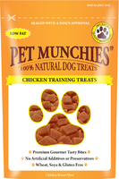Pet Munchies Dog Training Treats Chicken 50g x 8