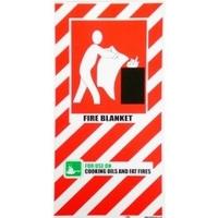 FIRE Blanket Blazon Sign