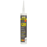 125 One Hour Caulk White C3 Cartridge
