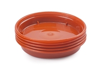 WHITEFURZE SAUCER FOR 3'' & 4'' POT TERRACOTTA