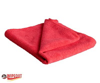 red microfiber cloth