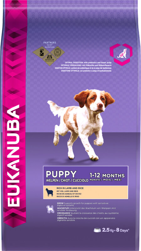 Eukanuba Puppy Lamb & Rice 2.5kg