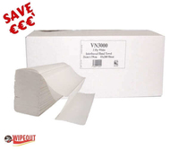V Fold White Hand Towel cs 3000 (lucart) spec