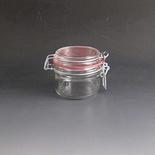 180gm Clip Top glass Storage Jar