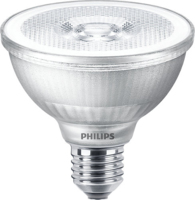 9.5W-(75W) PHILIPS  MASTER LED PAR 30 2700K 25 DEGREE DIM 740 LUMEN