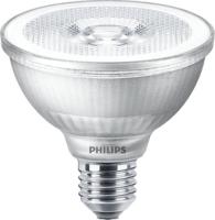 9.5W-(75W) PHILIPS  MASTER LED PAR 30 2700K 25 DEGREE DIM 740 LUMEN