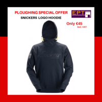 Snickers 2881 Logo Hoodie (Ploughing Special Discount Price)