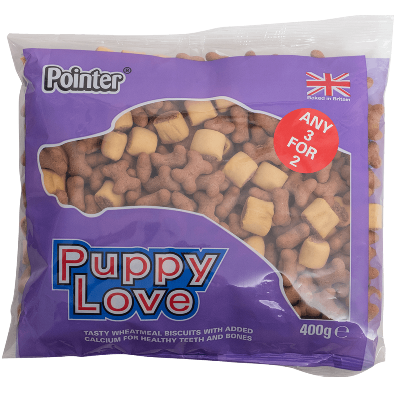 Pointer Puppy Love Puppy Treats 6 x 400g