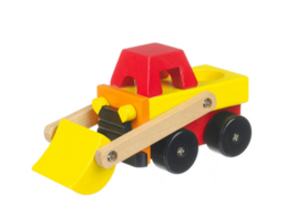 set of wooden vehicles for toddlers