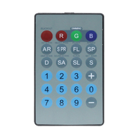 LEDJ IR Remote for Tri Fixtures (RGB)