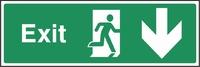 Emergency Escape Sign EMER0016-0364