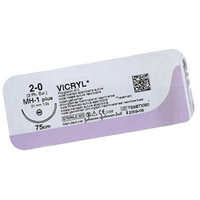 SUTURES COATED VICRYL 31mm 75cm W9361 PK 12