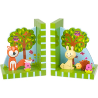 Woodland Animal Bookends