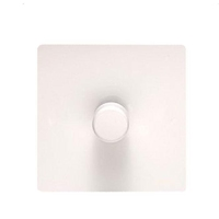 Flat Plate WHITE LV DIMMER  1g 2way| LV0701.0516