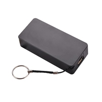 Setty 5200mAh Portable Power Bank in Black