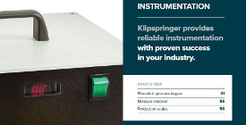 1. Klipspringer Product Guide 2017 - Instrumentation