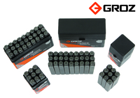 Groz Set of Number Stamps 5mm